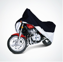 Universal Size Bike Body Cover for all Bikes (Black Color)