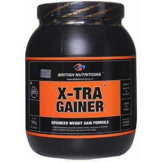 [British Nutritions Xtra Gainer 1 Kg Vanila]