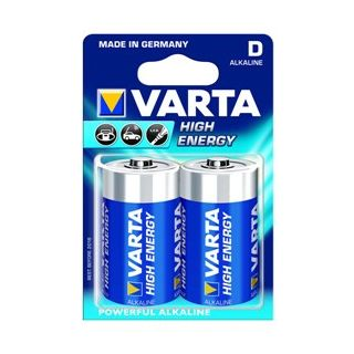 VARTA High Energy 2 D Size Alkaline Batteries ( Pack Of 5 Pcs. )