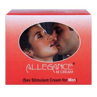 Allegance M Natural Sex Stimulant Cream & Libido enhancer cream for male