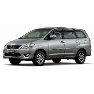 Car Side Beading For Toyota Old Innova Medium Silver Colour