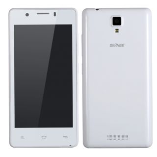 "Gionee P4 Android 4.2 QUAD CORE1.3 GHZ Dual Sim 4.5"" LCD VAT BILL WHITE/BLACK"