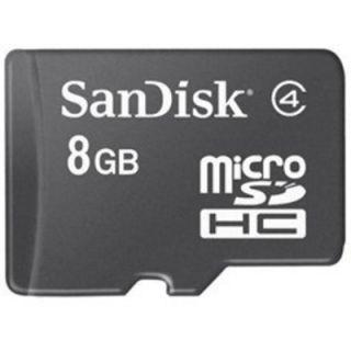 SanDisk SDSDQM-008G-B35 8GB Class 4 microSDHC Card
