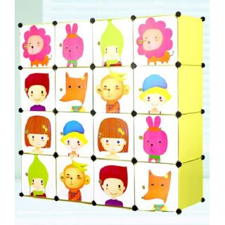 PLASTIC WARDROBE CUPBOARD ALMIRAH KIDS DLX  LKL 61 K available at ShopClues for Rs.5750