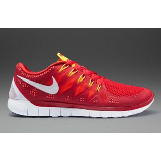 nike free 5.0 white and red