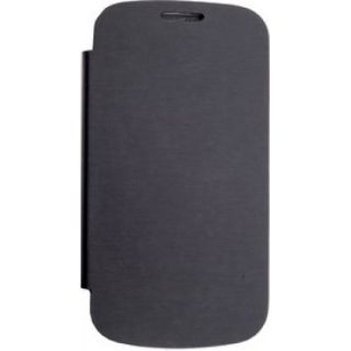 Karbonn  A50 Generic Flip Cover Black available at ShopClues for Rs.341