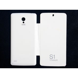 Repo Flip Cover For Karbonn S1 Titanium  White available at ShopClues for Rs.129