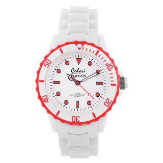 Colori Summer White Red Women Watch