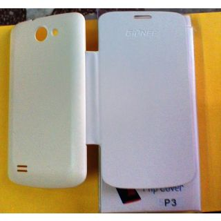 FLIP COVER FOR Gionee pioneer P3 in white colour available at ShopClues for Rs.149