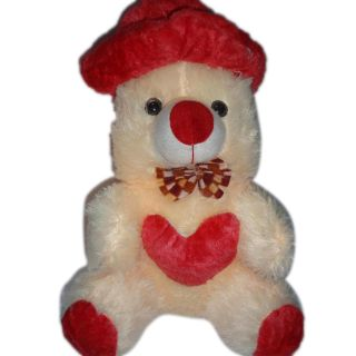 AGS 116 Teddy Bear Red Cap Diwali Gift Child, Birthday, Loving Friend, Soft Toys