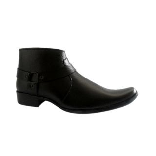 AT Classic Black Long Zip Shoes