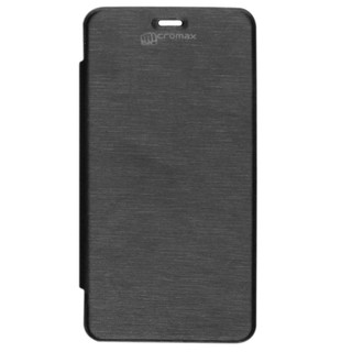 Micvir Flip Cover For Micromax Bolt A47 Black available at ShopClues for Rs.249