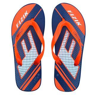 FIZIK Men's Flip Flop Navy-Neon-Orange (Max-1)