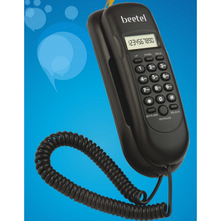 BEETEL M27 Corded Landline Phone BLACK