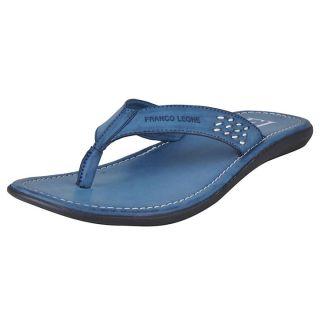 Franco Leone Blue Slipper - Design 1
