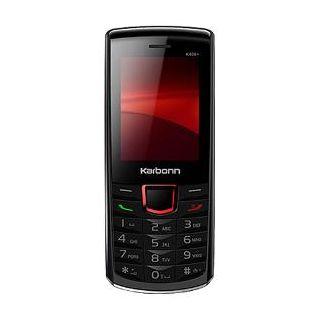 Karbonn K406 Plus Dual SIM Mobile Phone - Black Red