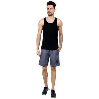Nu9 Mens Grey Shorts