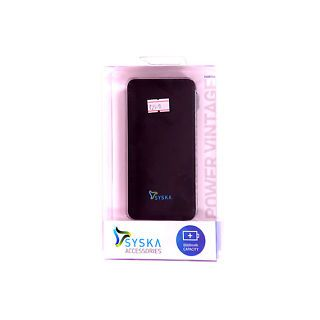 SYSKA 6000 VINTAGE POWER BANK available at ShopClues for Rs.2100