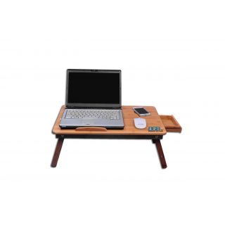 dgb jumbo wooden laptop table with cooling fan prices in india