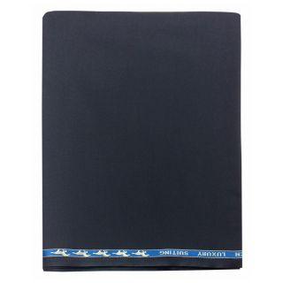 Ram Kumar Textiles Pvt Ltd Ramkumar's Men's Suiting Poly Blend Night Blue Unstitched Coat Piece