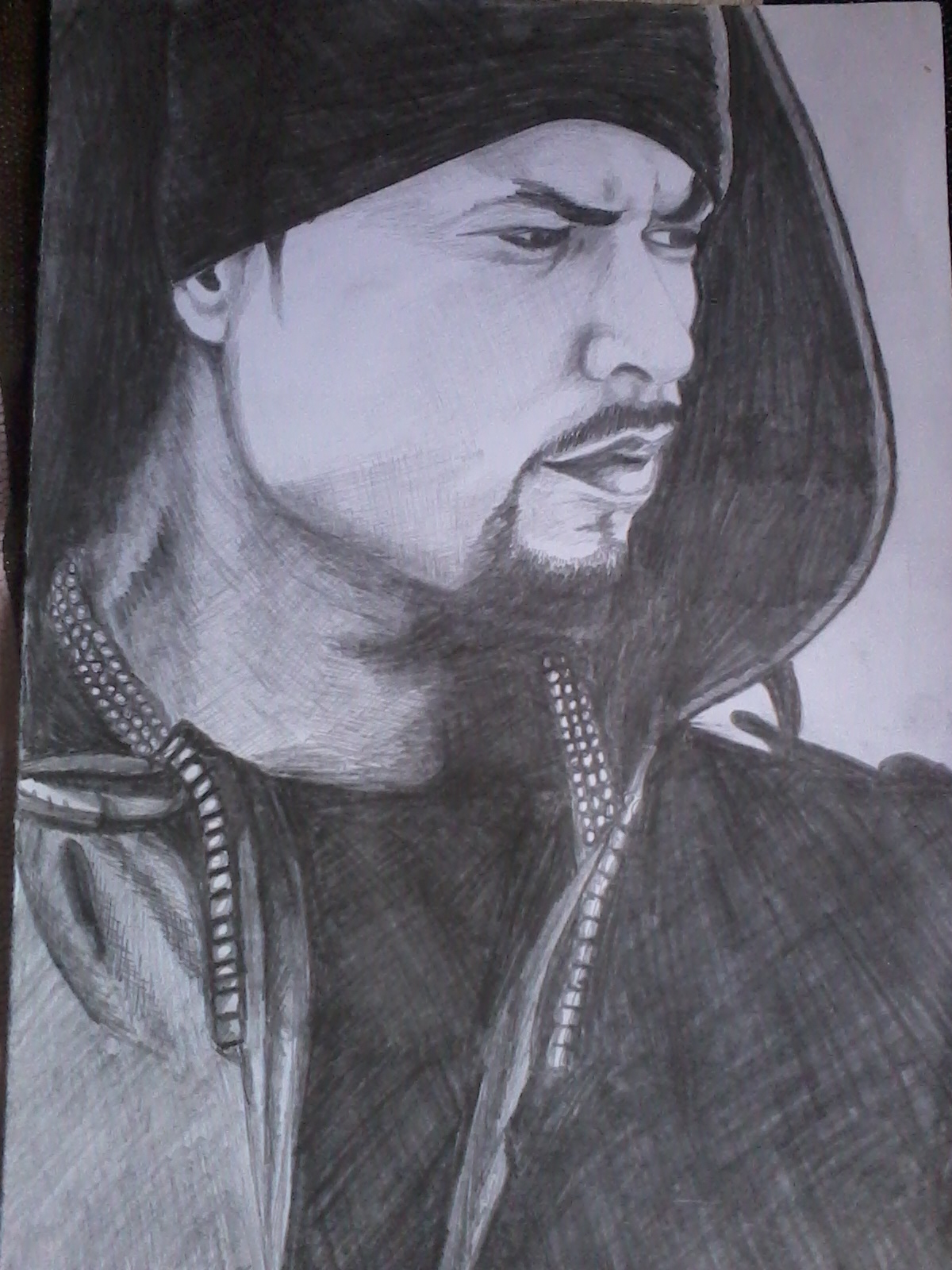 Pencil sketch of Bohemia In India - Shopclues Online