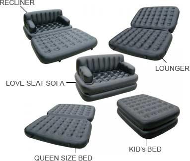 Buy Air Sofa Cum Bed Online