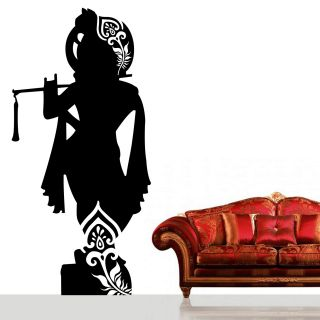 Lord Krishna Designs Lord Krishna Wall Decal Small