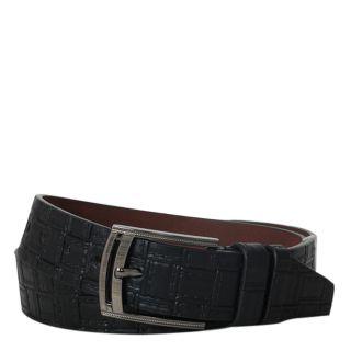 kh classic designer leather belt in black color c041114bl0073