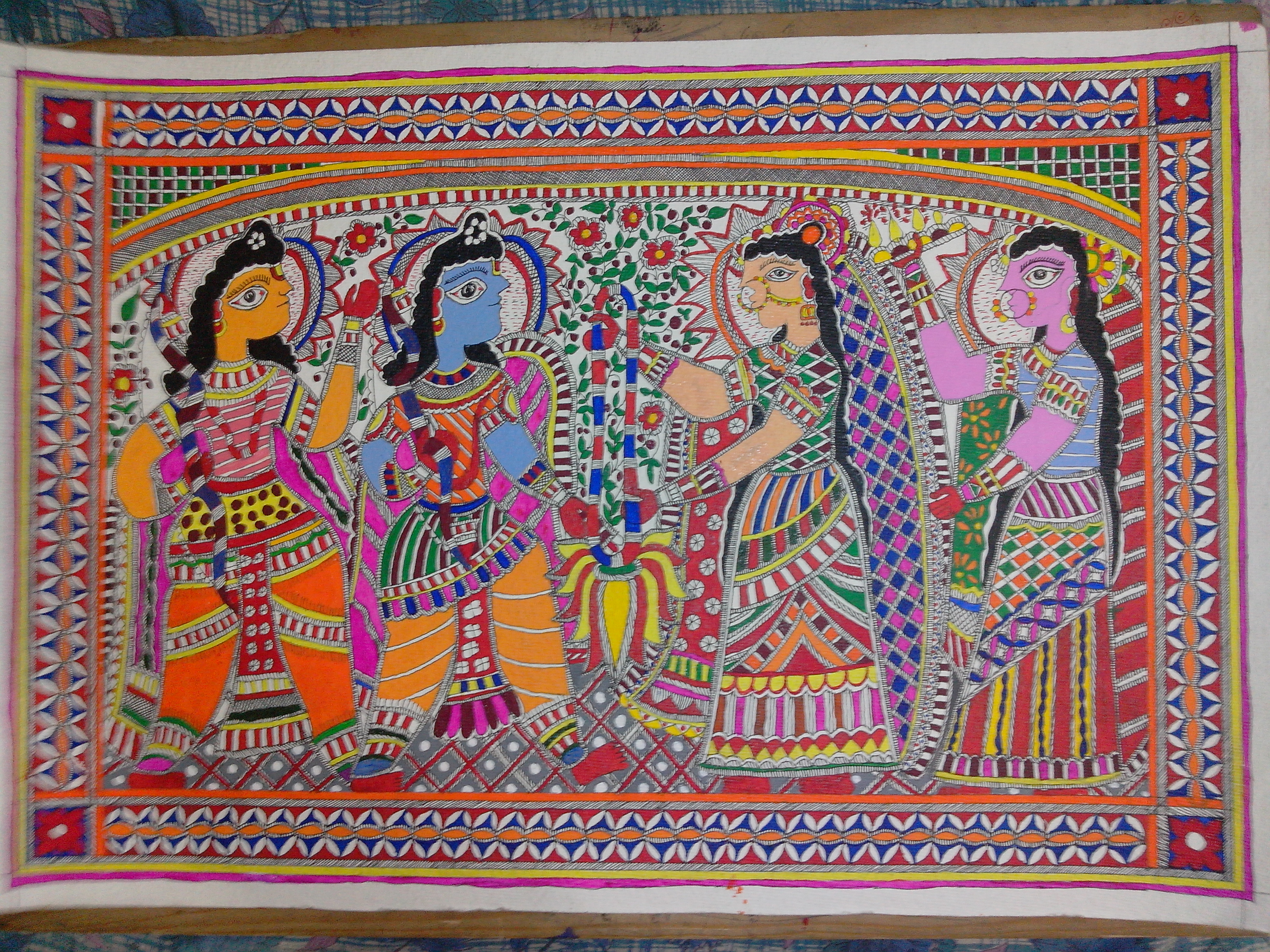 Various Types Of Exquisite Indian Art