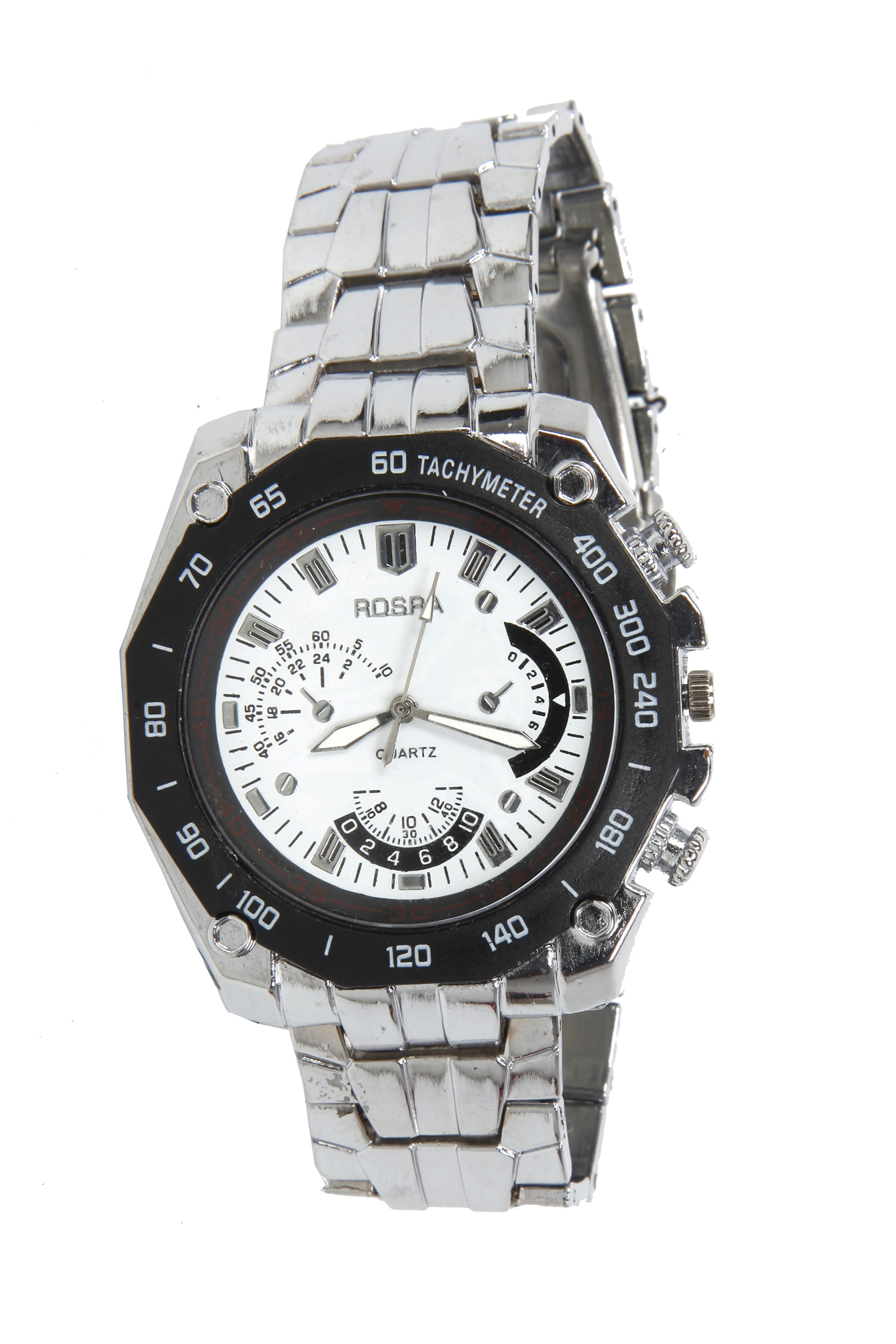 Rosra steel wrist watch for men 10 online at best price from for Rosra watches