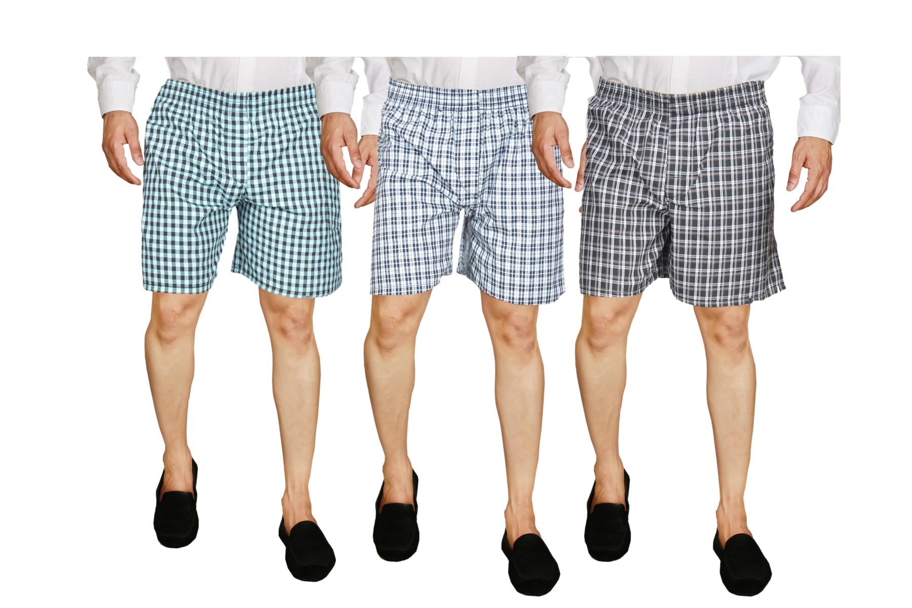 Men Boxer Shorts ( Set of 3 )