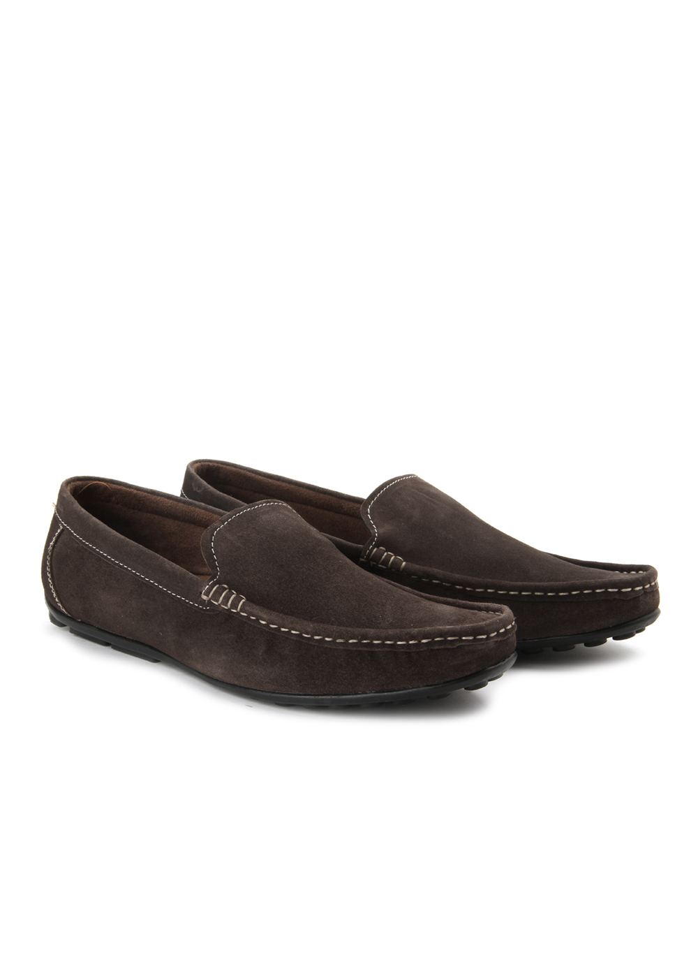 Andrew Scott Mod Mens Brown Loafers