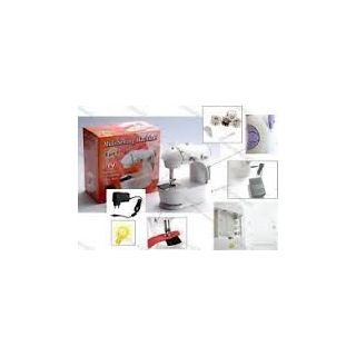 4 In 1 Mini Sewing Machine With Adaptor And Pedal ,Compact,WITH DUAL POWER