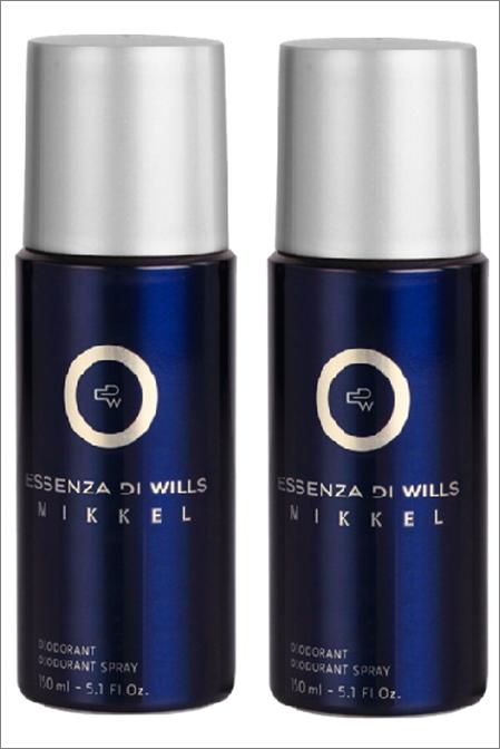 Essenza Di Wills Mikkel Deodorant 150 Ml Pack Of 2