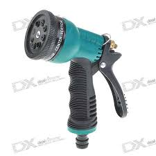 Water Spray Gun 8 Pattern Brass Nozzal available at ShopClues for Rs.175