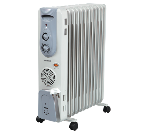 Havells Room Heater 11 Fin With Fan Oil Filled Radiator