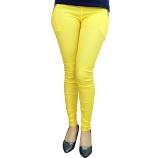 Califonia blues Csd Trendy Yellow Jeggings For Girls