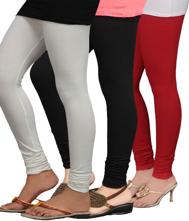 MAT Set of 3 Leggings (Lycra Mix Cotton)
