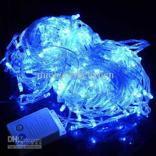 Blue Lantern String Lights : blue color 30m300 LED String Lights flash light Christmas Twinkle light