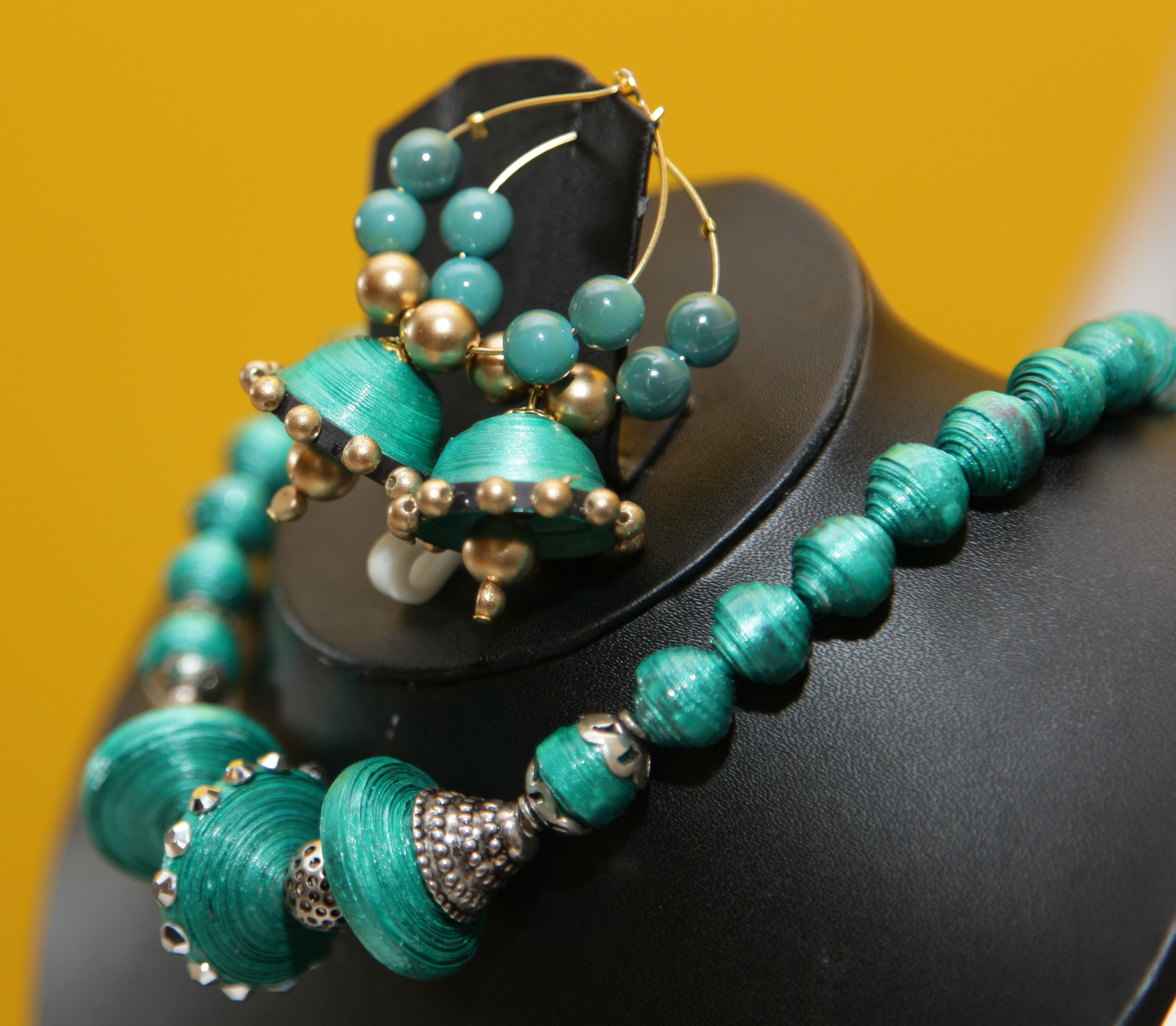 Pushkala handmade paper jewelry online at best price for Custom made jewelry stores