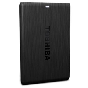 Toshiba Canvio 1TB Portable External Hard Drive (Black) at shopclues