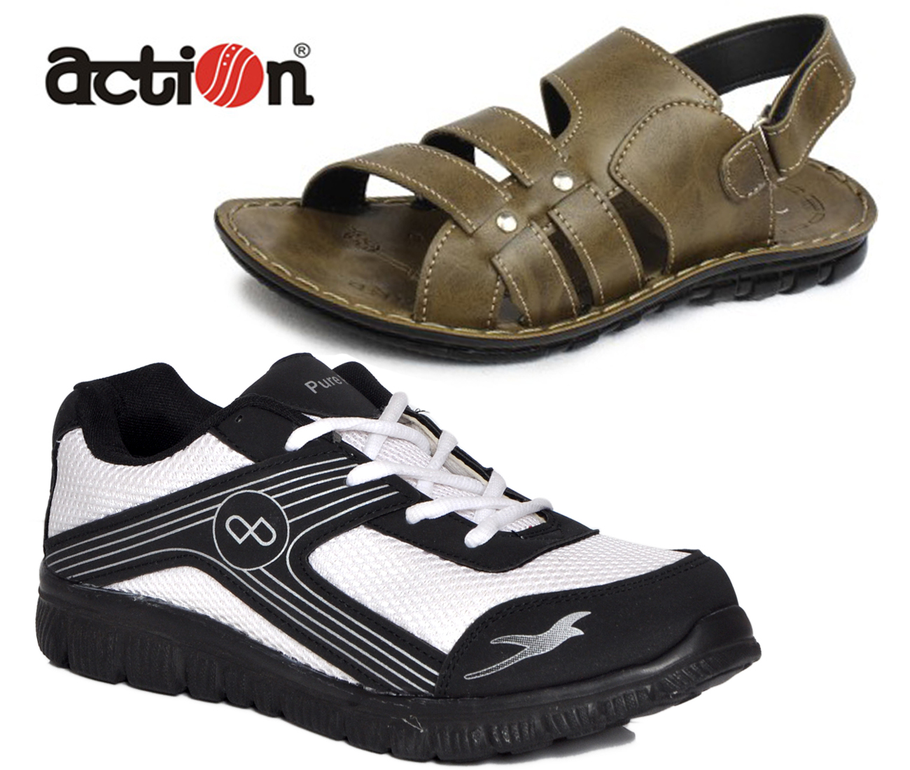 flotter branded sports shoes buy from