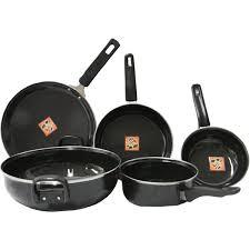 5 pc non stick bartan set for Kitchen set bartan