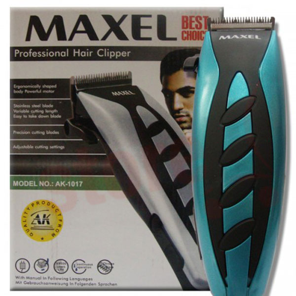 maxel electric hair beard trimmer professional with 4. Black Bedroom Furniture Sets. Home Design Ideas