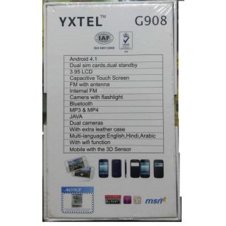 Yxtel G908 Android  !! 4.0  Big Screen !!  WIFI