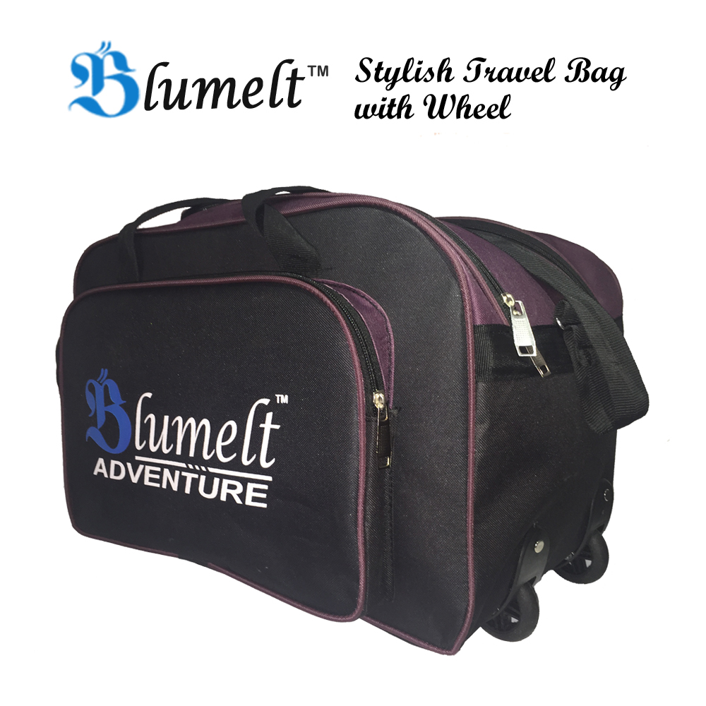 Fashion week Stylish blumelt travel bag combo for woman