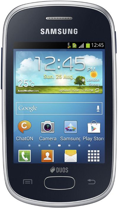 Samsung Galaxy Star S5282 4 GB Black    6 month Brand Warranty  available at ShopClues for Rs.3595