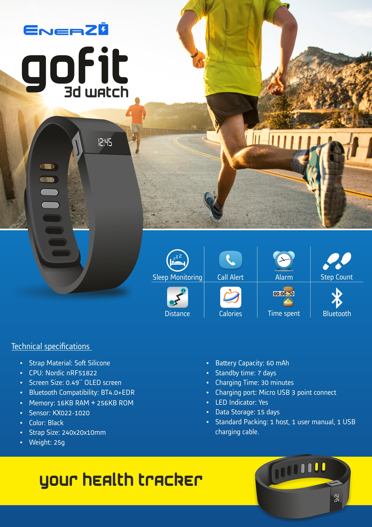 buy go fit 3d watch online in india - 81727344