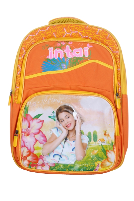La Plazeite Girls Intai Orange School Bag SB-0128