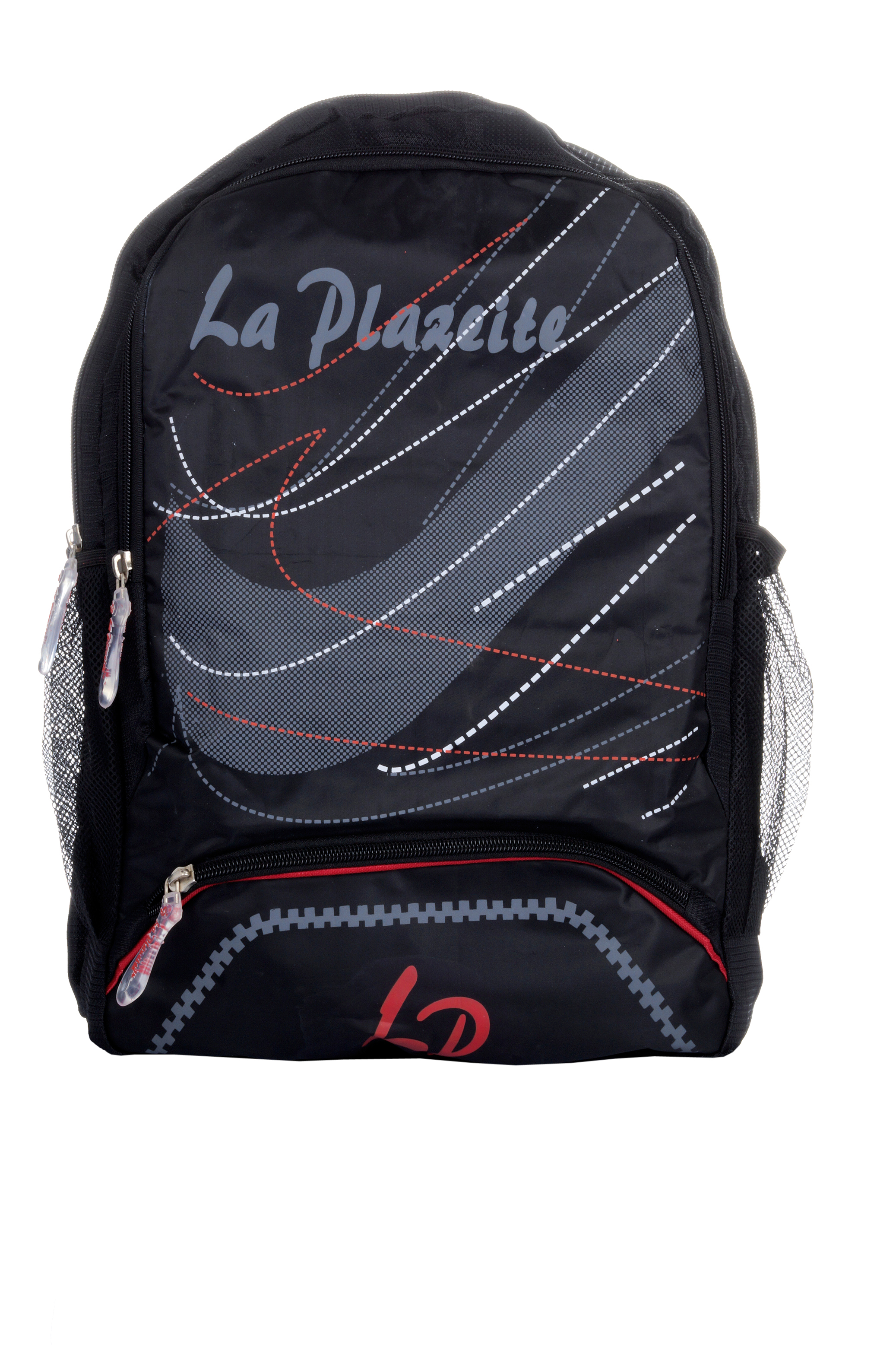 La Plazeite Boys Matti Red Color Fancy Back Pack Pc-10061